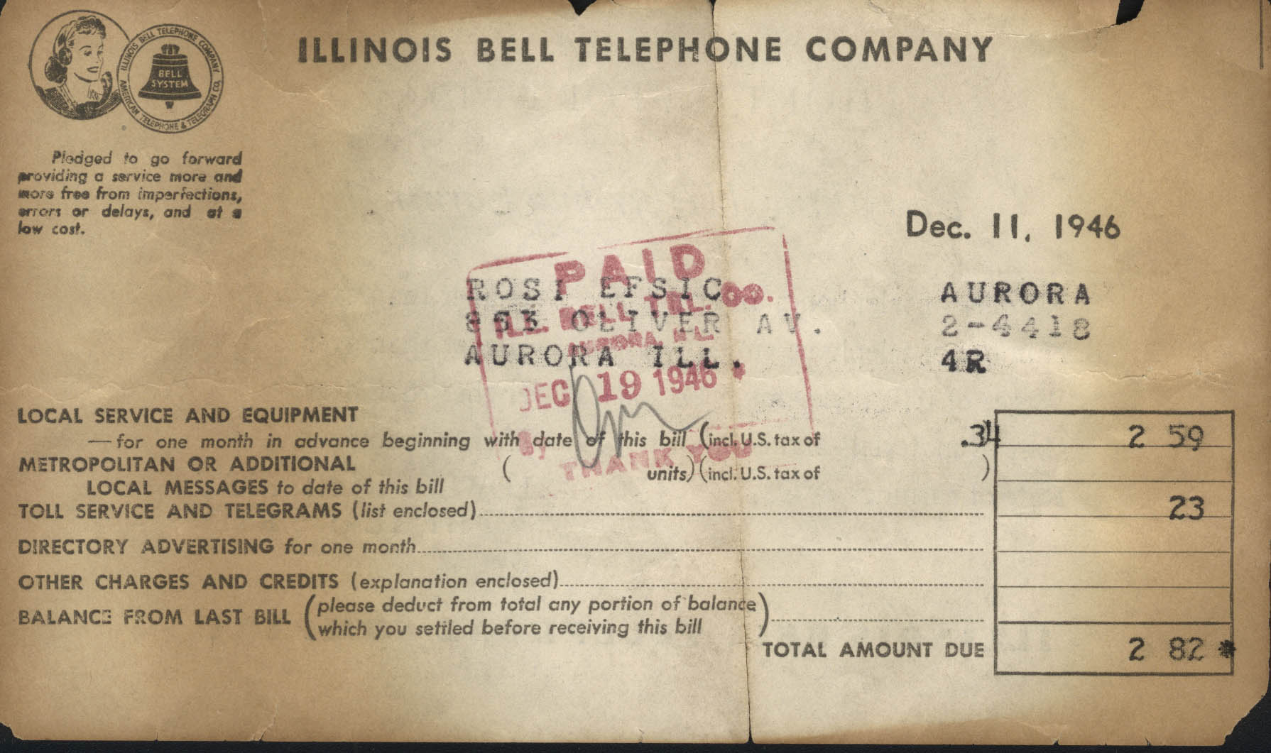 "Phone Bills That Say ""Wow!"""